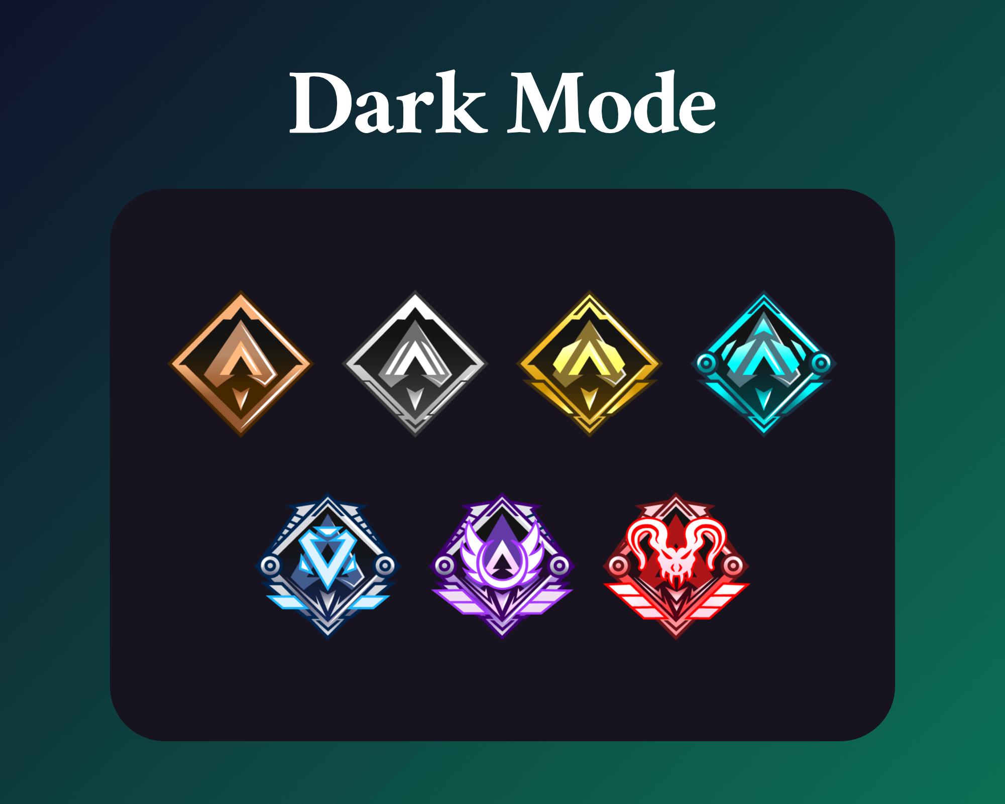 Apex legends sub badges for twitch dark mode