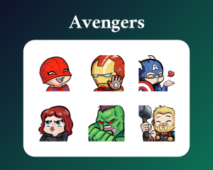 Avengers Twitch Emotes