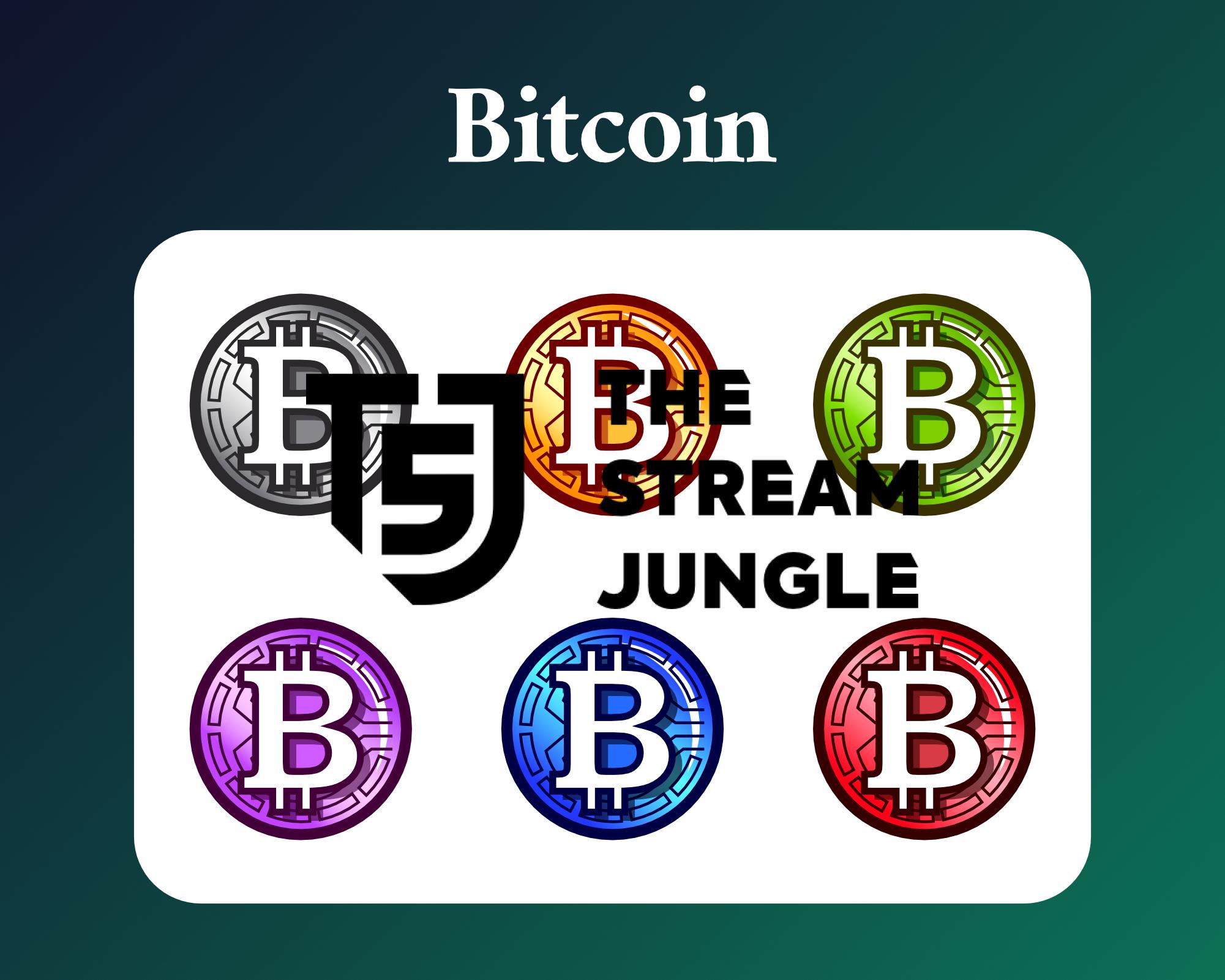 Bitcoin twitch sub badges