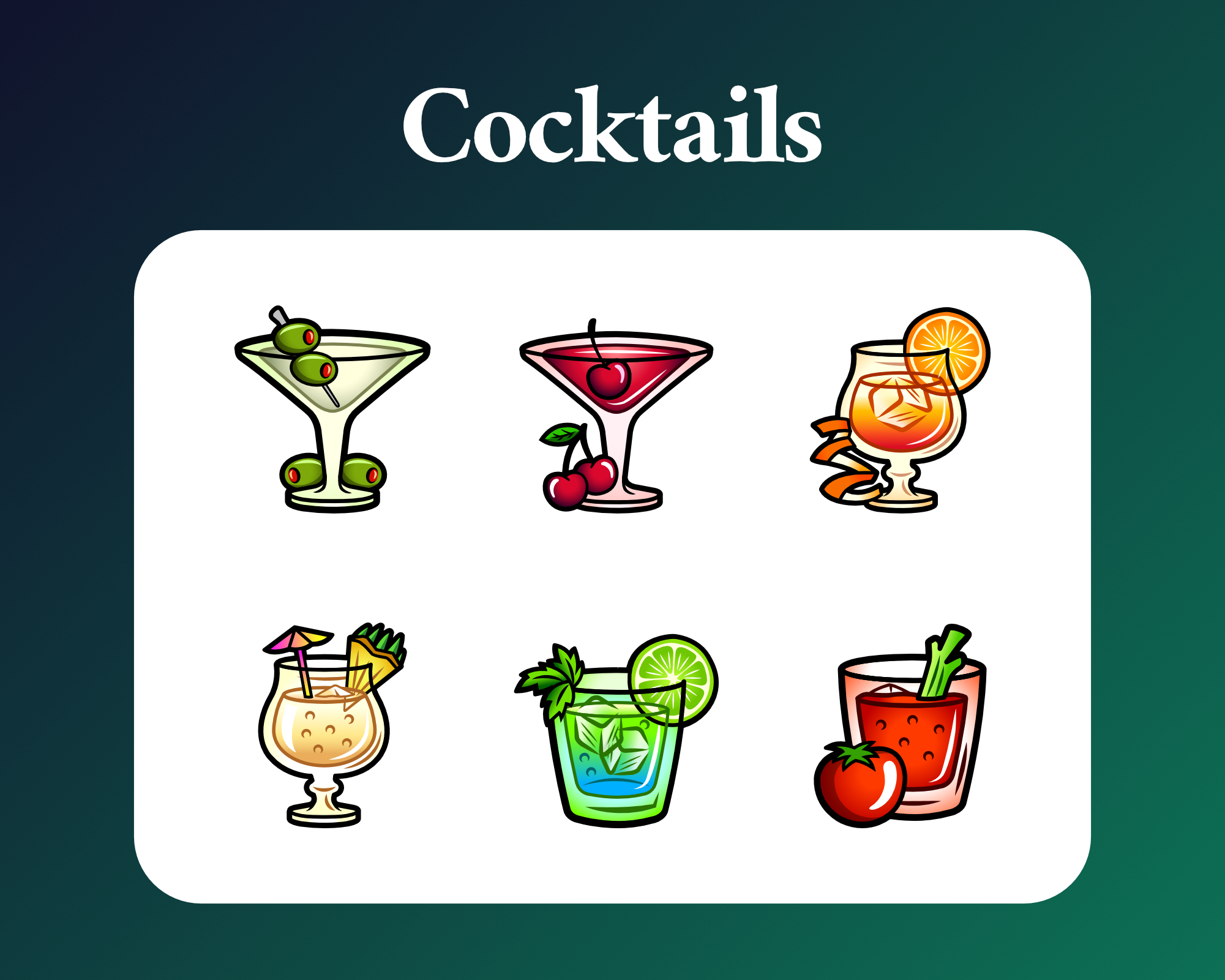 Cocktail sub badges for twitch