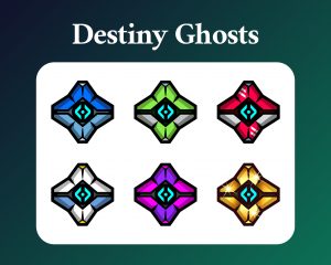 Destiny ghost sub badges