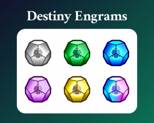 Destiny engrams sub badges