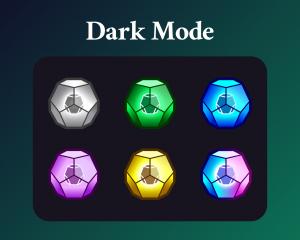 Destiny engrams sub badges dark mode