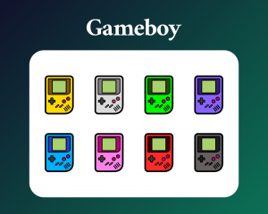 Gameboy sub badges for twitch