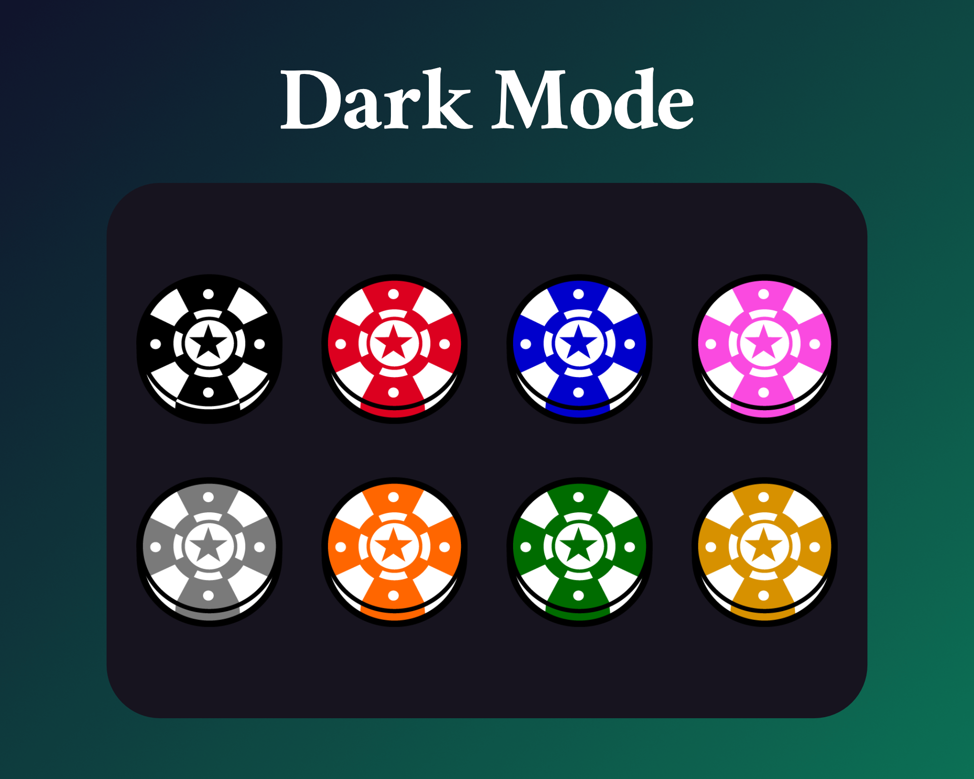 Poker sub badges for twitch dark mode