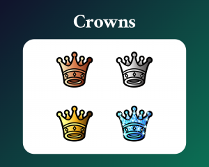 Free Crown Sub Badges