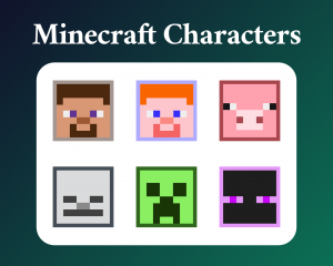 Minecraft Character SUb badges for twitch
