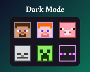 Minecraft sub badges for twitch dark mode
