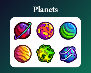 Planets sub badges for twitch