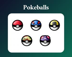Pokeball Sub Badges Pokemon