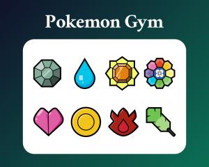 Pokemon gym sub badges
