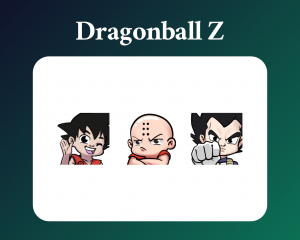 DragonballZ emotes for twitch