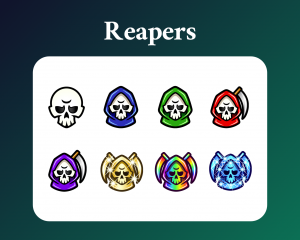 Grim reaper subscriber badges