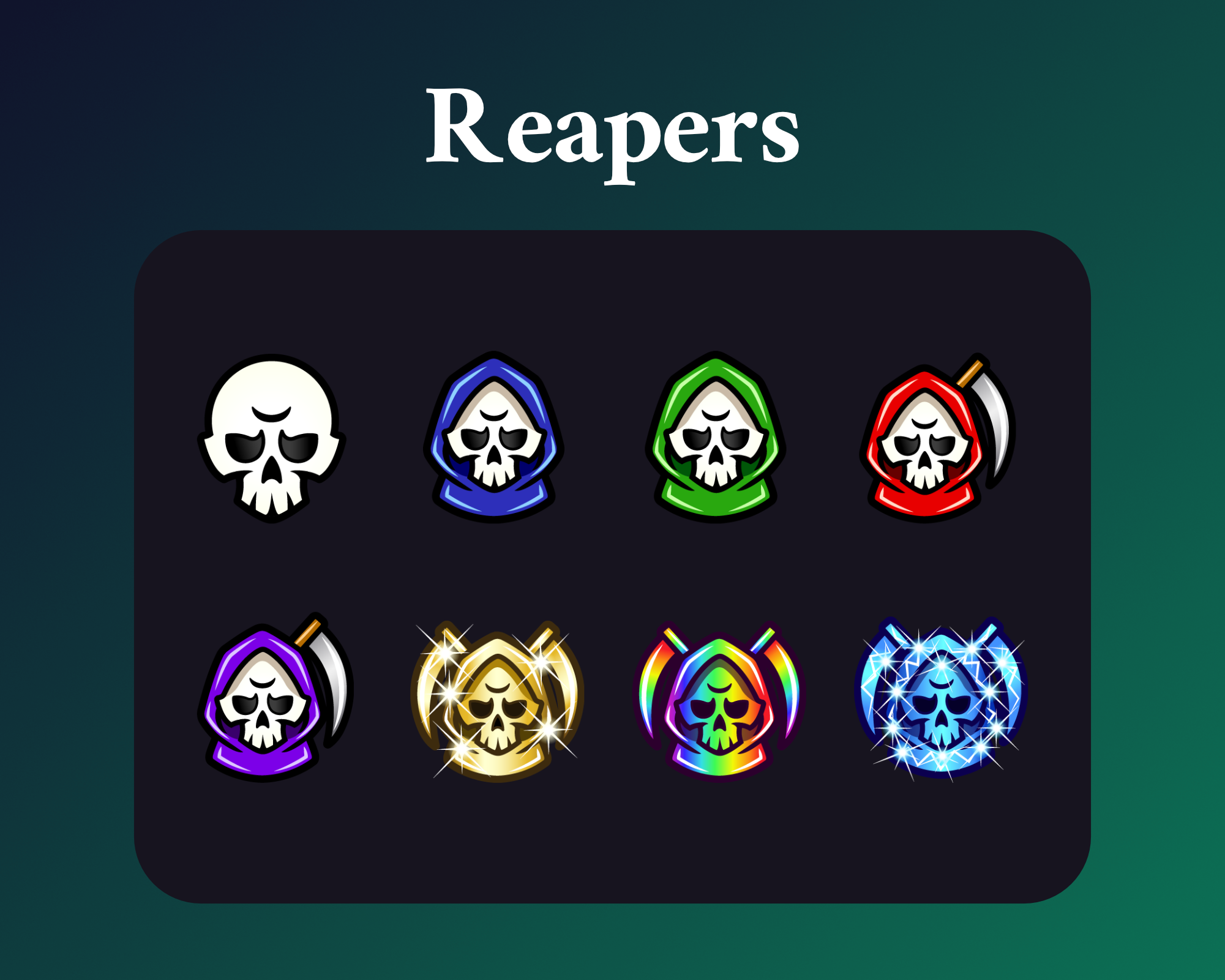 grim reaper sub badges for twitch