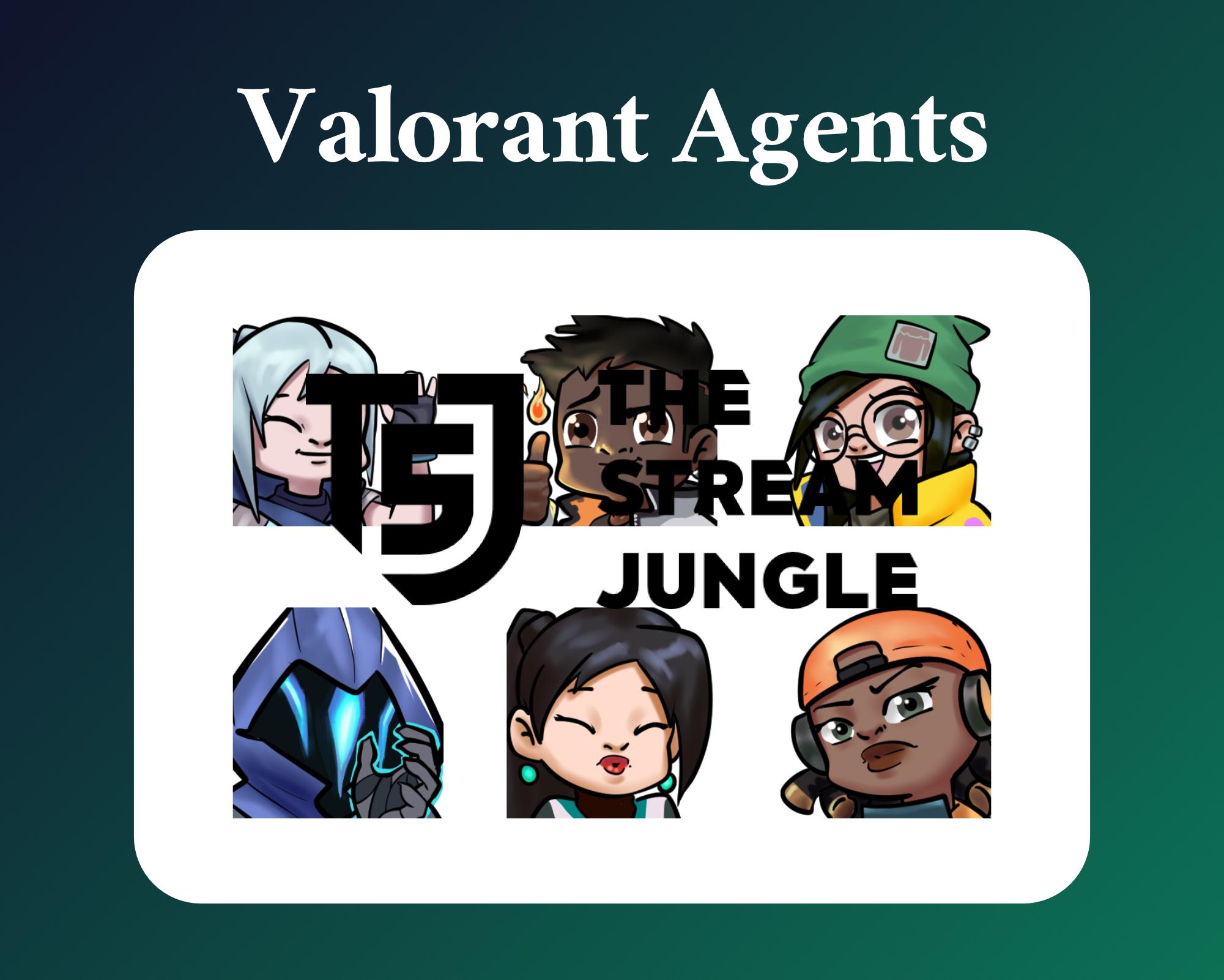 Valorant Agent Emotes