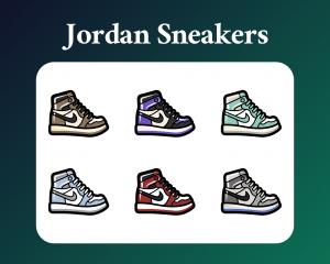 Nike Jordan Sneaker Sub Badges