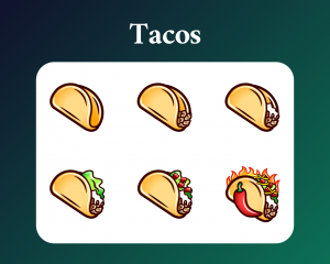 Taco Twitch Sub Badges